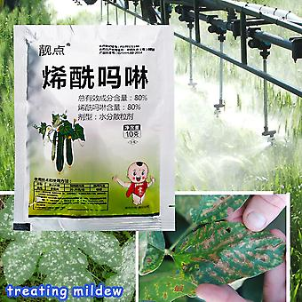 Dimethomorph Fungicide Treating Mildew And Root Rot Diseases Garden Plant