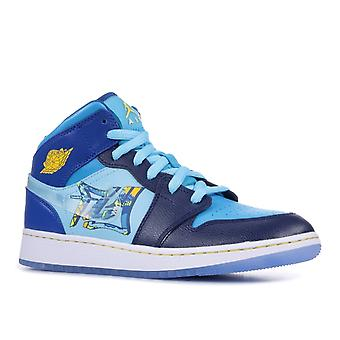 Air Jordan 1 Mid (Gs) 'Fly' - Bv7446-400 - Shoes
