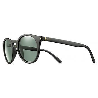 Sunglasses Unisex Cat.3 matt black/green (JSL10090147)