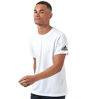 Män & apos;s adidas ID Stadium T-shirt i vitt