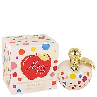 Nina pop eau de toilette spray (10.birthday edition) mennessä nina ricci 50 ml