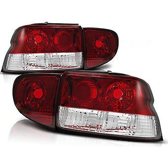 REAR LIGHTS FORD ESCORT MK6/7 93-00 RED BRIGHT