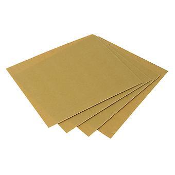 Faithfull Glaspapier Schleifblätter 230 x 280mm Grade OO 240g (25) FAIAGPOO