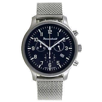 Aristo Men's Messerschmitt Watch Chronograph ME-3H198M Stainless Steel