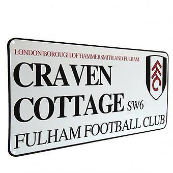 Fulham Street Sign