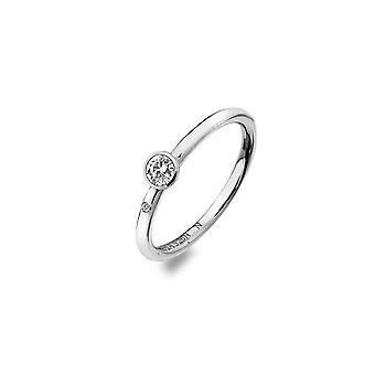 Hot Diamonds White Topaz Tender Solitaire ring DR206