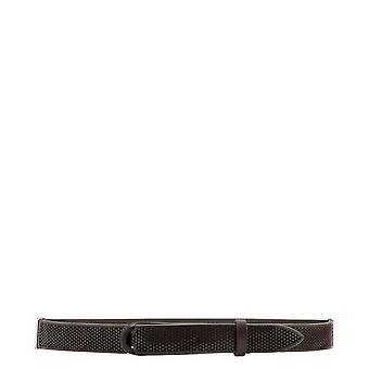 Orciani Nb0069bullsoft005 Men's Brown Leather Belt