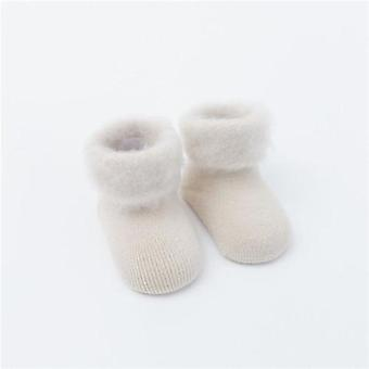 Winter Thick Terry Baby Socks- Warm Newborn Cotton / Cute Toddler Socks, Baby