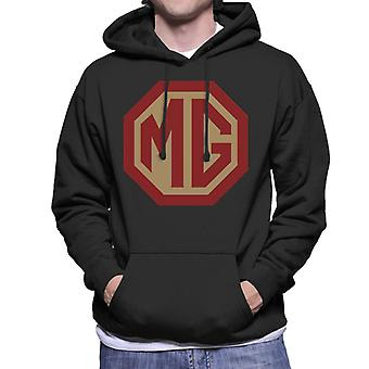 MG Rood en Goud Logo British Motor Heritage Men's Hooded Sweatshirt