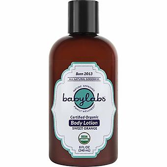 BayLabs Organic Baby Lotion Orange, 0, 8 Oz