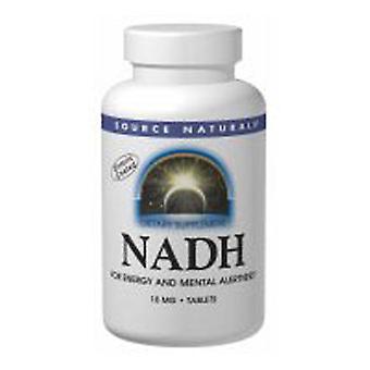 Källa Naturals NADH, 10 mg, 10 Flikar