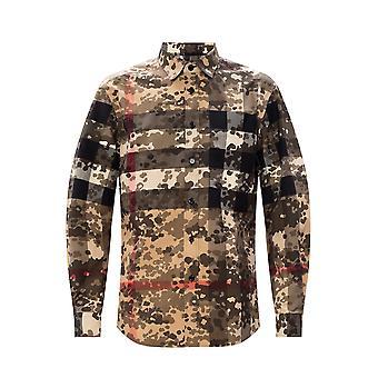 Burberry 8029830a7168 Männer's Multicolor Baumwoll-Shirt