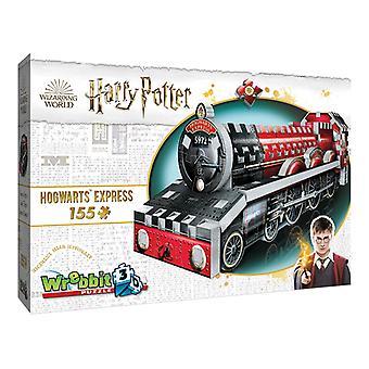 Wrebbit 3D Harry Potter Mini Hogwarts Express Jigsaw Puzzle - 155 Pieces
