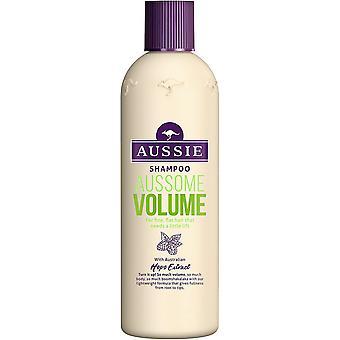 3 × الاسترالي Aussome حجم الشامبو 300ml