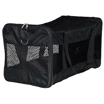 TRIXIE الحيوانات الأليفة حمل حقيبة ريان البوليستر 30x30x54 سم أسود 28851