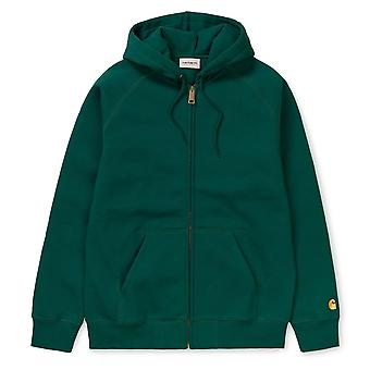 Sweat Carhartt Hooded Chase Jacket Vert