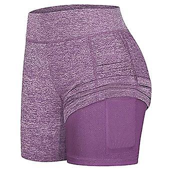 女子&アポステニススカート、ランヨガインナーショーツ、エラスティックスポーツゴルフポケット、