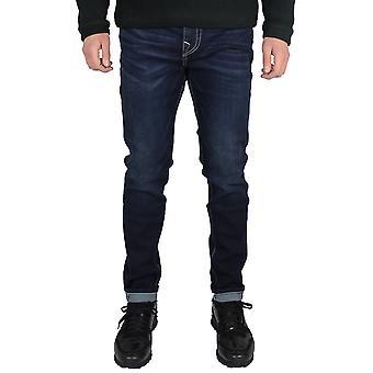 True religion men's jack dark blue jeans