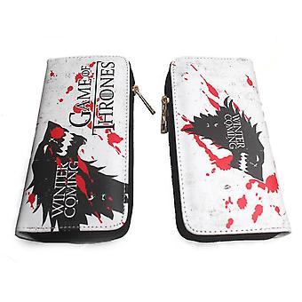 PU leather Coin Purse Cartoon anime wallet - Game of Thrones #135