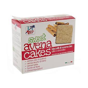 SWEET AVENA CAKES - BISCOTTI DI AVENA ALLA CANNELLA 250 g