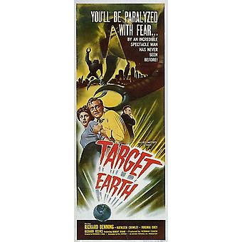 Target Earth Movie Poster (11 x 17)