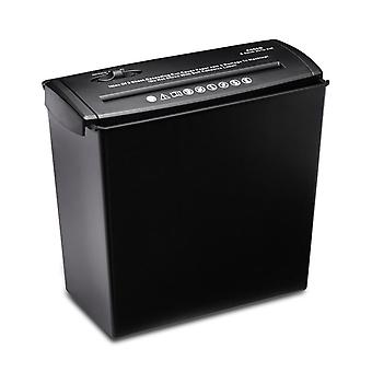 5-sheet Strip-cut Paper, Desktop Electric Paper Shredder With 10l Wastebasket