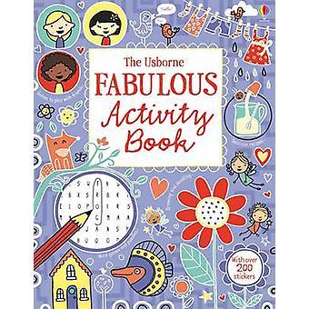 Les livres d'activités usborne Fabulous Activity Book