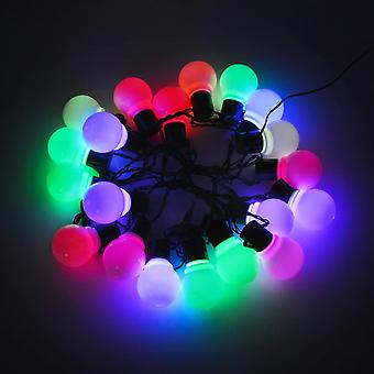 Led Garden Lawn Lamp, Globe Bulb, String Lights