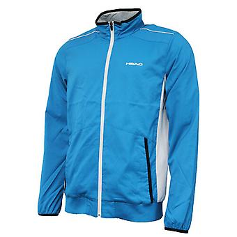 Head Body Clothing Club Zip Up Sports Training Jacket Hommes Bleu 811615 BL R8D