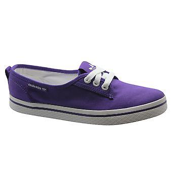 Adidas Originals Honey Plimsole Naisten Kouluttajat Kengät Pitsi Violetti M20783 B37B