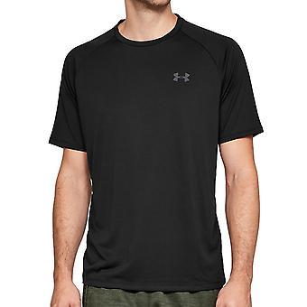 Under Armour Tech 2.0 Herren Kurzarm Training T-Shirt Schwarz