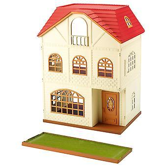 Famílias silvestres 2745 bonecas e acessórios †,†house com 3†stories, multi-cores