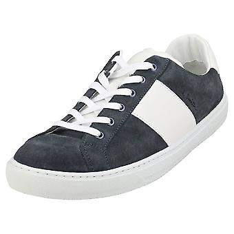 Paul Smith Hansen Mens Fashion Trainers in Navy White