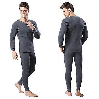Heren's Thermal Underwear Sets, Winter Warm Long Johns