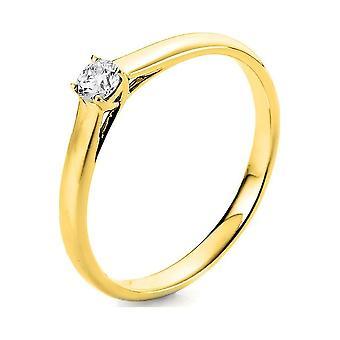 Luna Creation Promessa Solitairering 1A442G856-1 - Ancho del anillo: 56