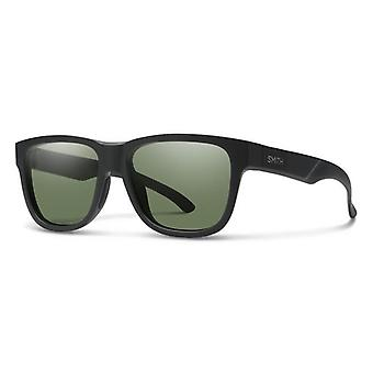Smith Lowdown Slim 2 003/L7 Gafas de sol negras/verdes mate