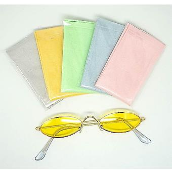 Chamois Glasses Cleaner 150*175mm Microfiber Glasses Cleaning Cloth For Lens