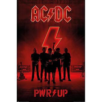 AC/DC Pwr Up Poster