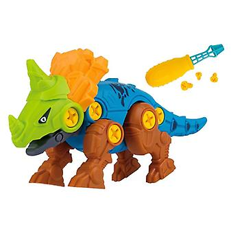 Screw Nut Combination Assembling Dinosaur Model Educational Toy