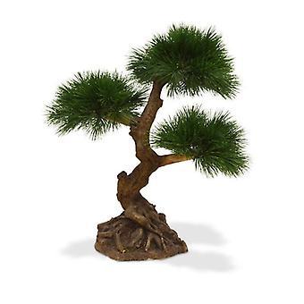 Pinus Bonsai artificiale x3 60 cm a prova UV