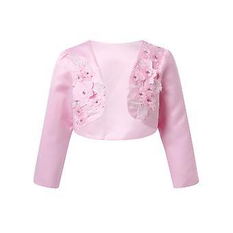 Elegante Baumwolle Cardigan Schal Prinzessin Casual Short Outerwear