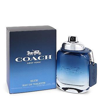 Coach Blue Eau De Toilette Spray By Coach 2 oz Eau De Toilette Spray