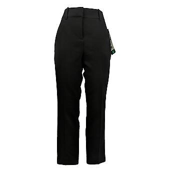 Kirkland Signature Women's Pants Trouser Fly Zipper Closure Black