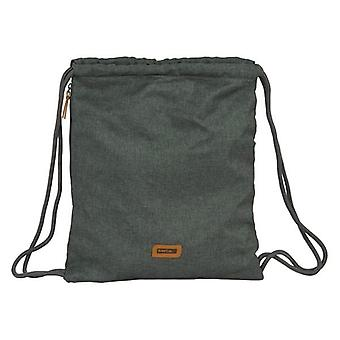 Backpack with strings safta grey