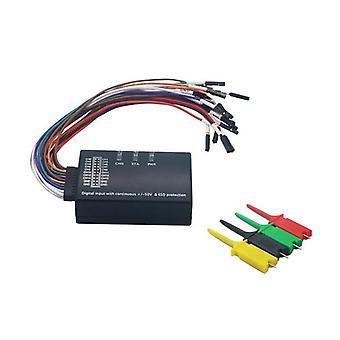 Mini Logický analyzátor, Maximální vzorkovací frekvence, Software podpory USB