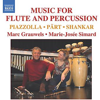 Music for Flute & Percussion - Music for Flute and Percussion [CD] USA import