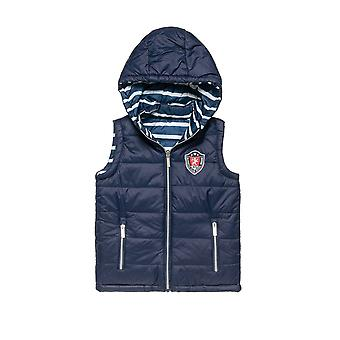 Alouette Boys' Double Sided Vest-Jacket With Embroidery
