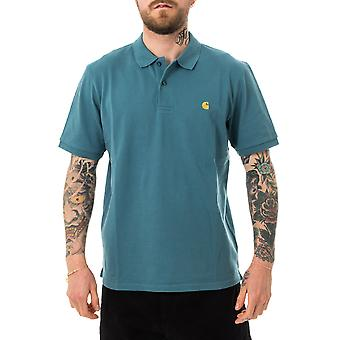Polo homme carhartt wip s/s chase pique polo i023807.0ac