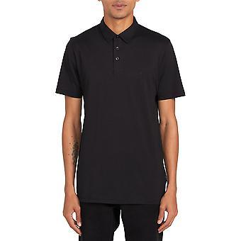 Volcom Men&s Heather Polo Shirt ~ Wowzer svart
