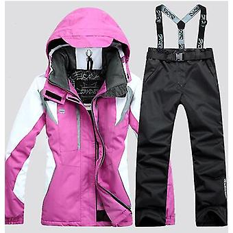 Coat And Trousers Women Ski Suit